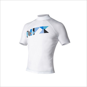 [RG1851]NPX Rash guard S/STRIFECTA White