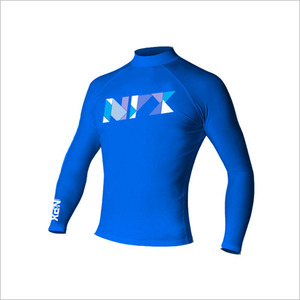 [RG1855]NPX Rash guard L/STRIFECTA BLUE